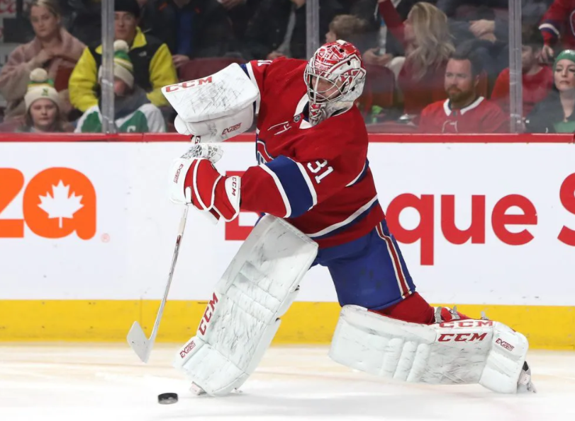 Carey Price, one of the greatest goalies in the history of the Montreal Canadiens