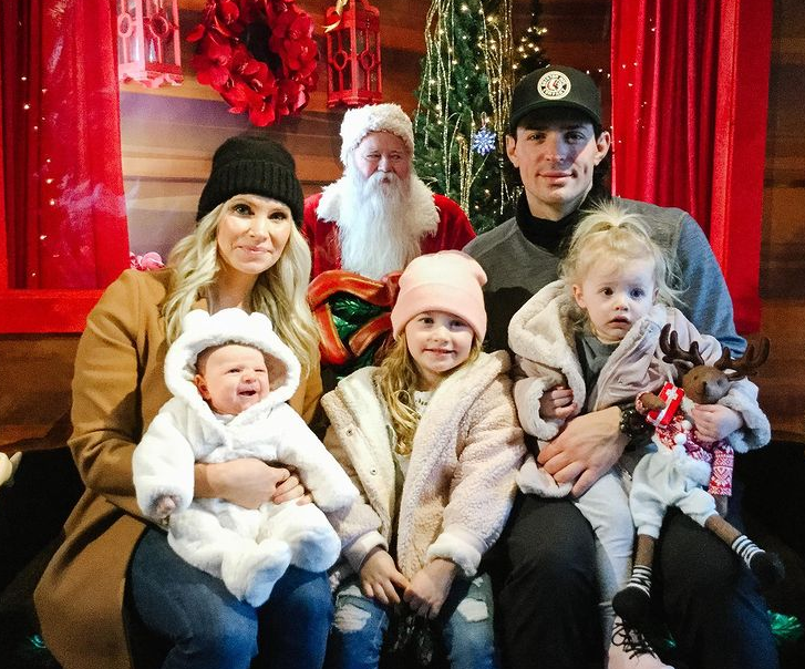 Carey Price with her wife, Angela Price and their kids