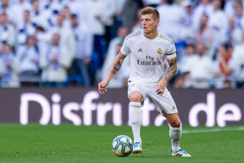 Toni Kroos, midfielder for Real Madrid