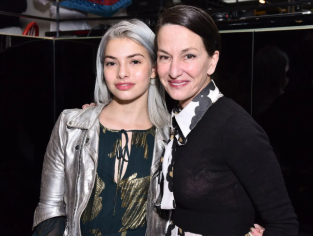 Kit Keenan and her mother, Cynthia Rowley