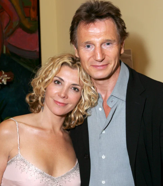 Liam Neeson and his late wife, Natasha Richardson