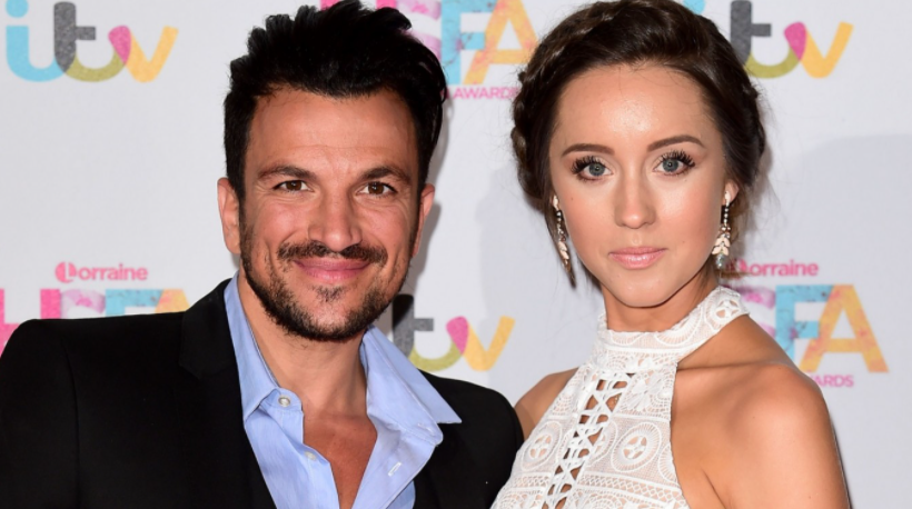 Emily MacDonagh and her husband, Peter Andre