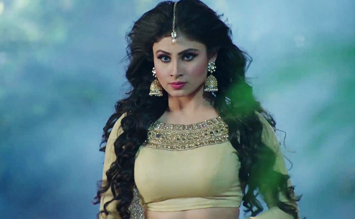 Mouni Roy in the Indian TV serial Naagin