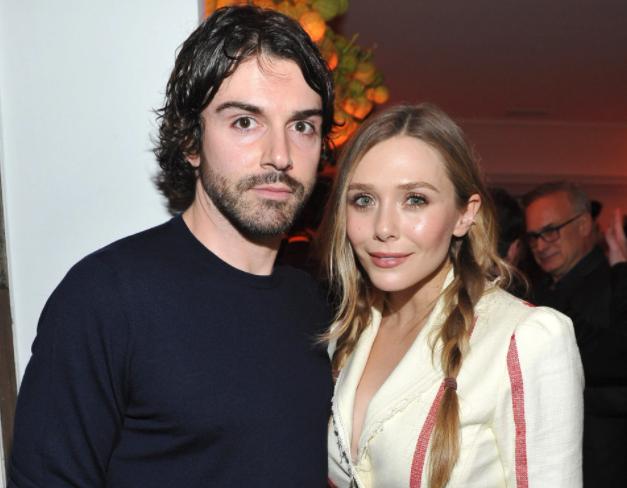 Elizabeth Olsen and her fiance, Robbie Arnett