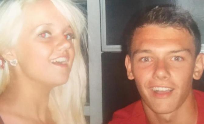 Kal Naismith and his girlfriend, Ashley Dickson