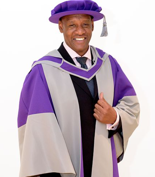 Shaun Wallace received an Honorary Doctorate of Law
