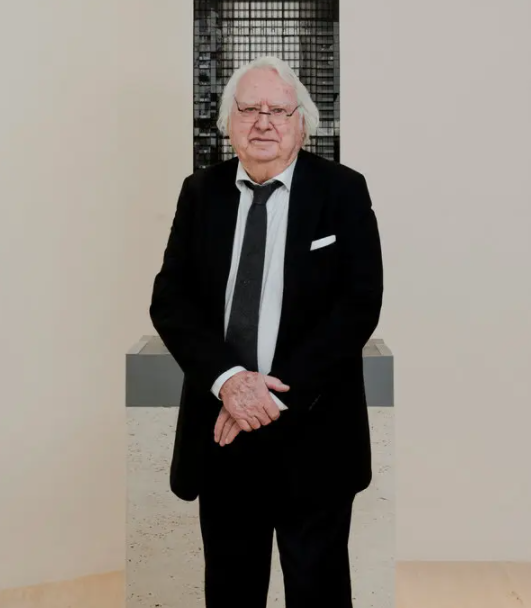 Richard Meier, American architect and abstract artist