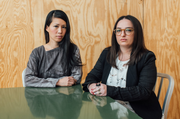 Stella Lee and Alexis Zamlich are two of several women who have complained that they were sexually harassed by Richard Meier