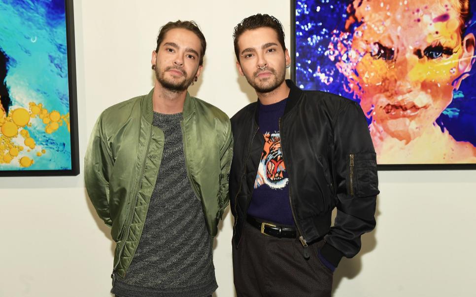 Bill Kaulitz and his twins brother, Tom Kaulitz