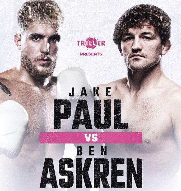 Ben Askren will face against Jake Paul
