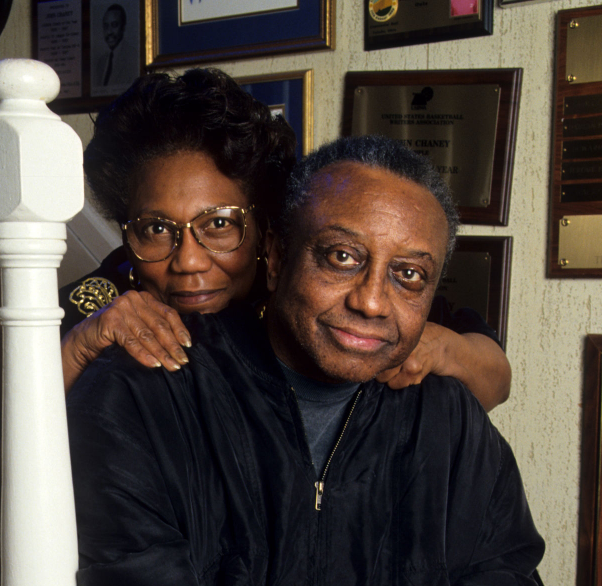John Chaney and his wife, Jeanne