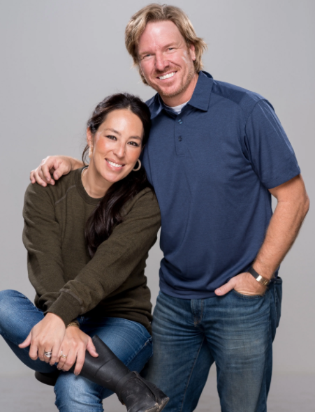 Chip Gaines and his wife, Joanna Gaines