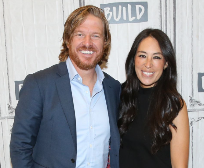 Chip Gaines with his wife, Joanna, Co-host of the reality series, 'Fixer Upper' for 5 seasons