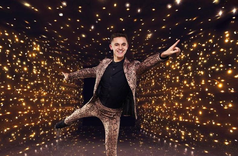 Dancing On Ice 2021 star, Joe-Warren Plant