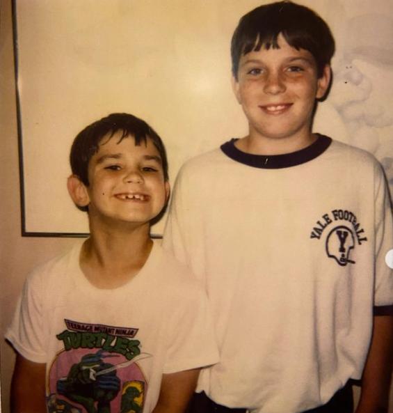 Carl Radke and his late brother, Curtis Radke