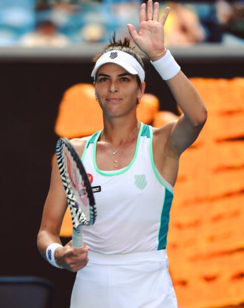 Ajla Tomljanovic; a professional tennis player