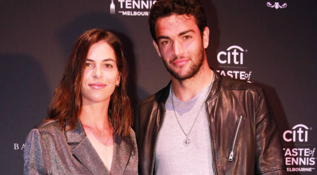 Ajla Tomljanovic and Matteo Berrettini
