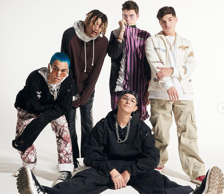 Band Members of PRETTYMUCH
