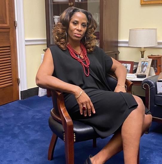 Stacey Plaskett, a famous American politician