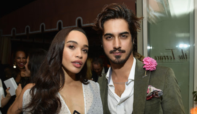 Avan Jogia and his girlfriend, Cleopatra Coleman
