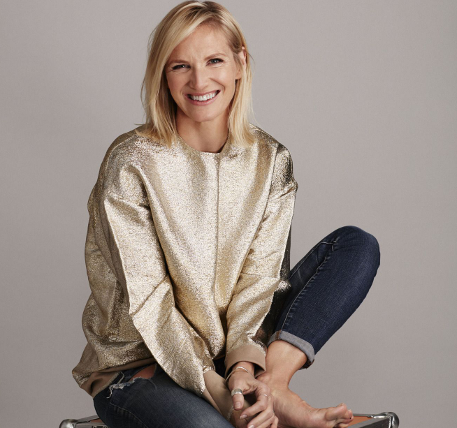 Jo Whiley, a famous radio DJ and television presenter