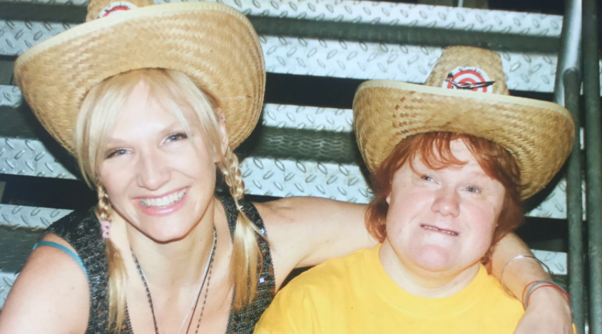 Jo Whiley and her sister, Frances Whiley