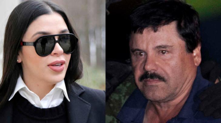 Emma Coronel Aispuro and her husband, Joaquin 'El Chapo' Guzman