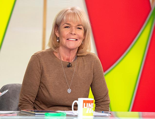 Linda Robson, a famous British TV presenter and Actress