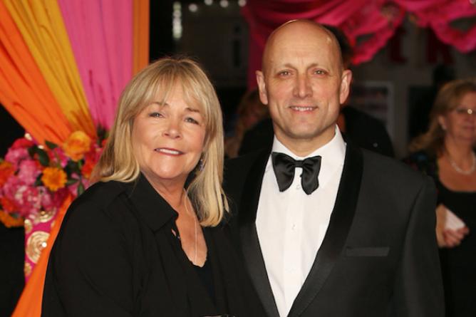 Linda Robson and her husband, Mark Dunford