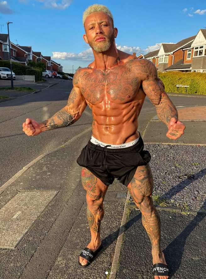 Ashley Cain Body With Tattoos