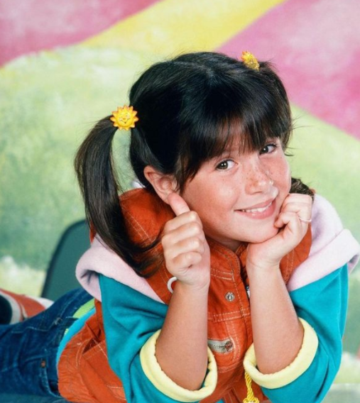 Childhood Picture of Soleil Moon Frye