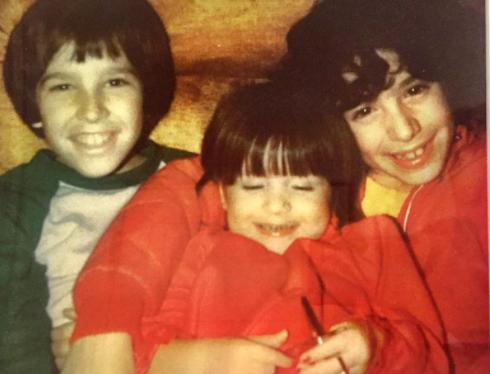 Soleil Moon Frye with her siblings, Sean Frye and Meeno Peluce