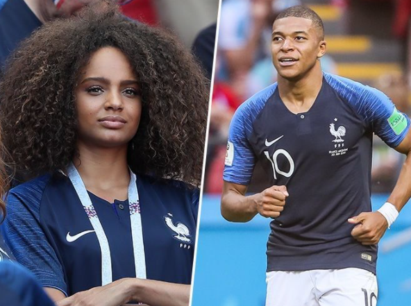 Alicia Aylies is dating French footballer, Mbappe