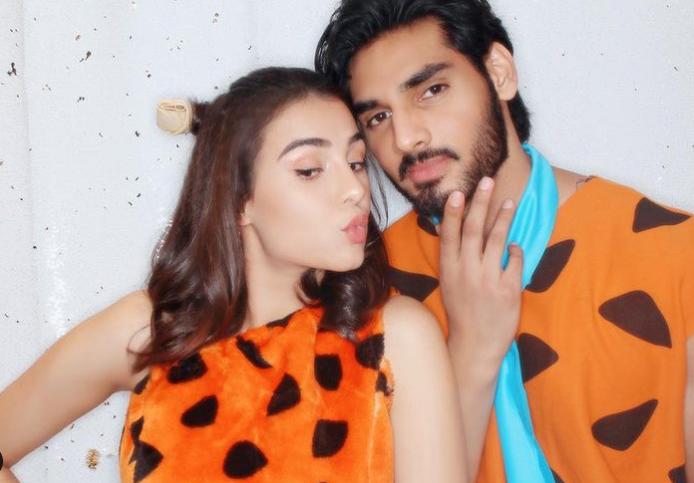 Ahan Shetty and his girlfriend, Tania Shroff