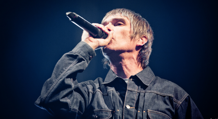 Ian Brown, the Lead singer of the alternative rock band the Stone Roses