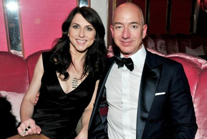 MacKenzie Scott's ex-husband, Jeff Bezos