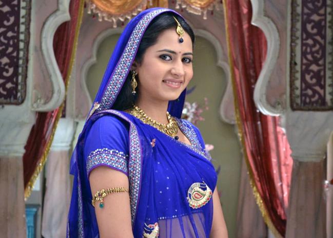 Sargun Meha in the TV serial 'Balika Vadhu'