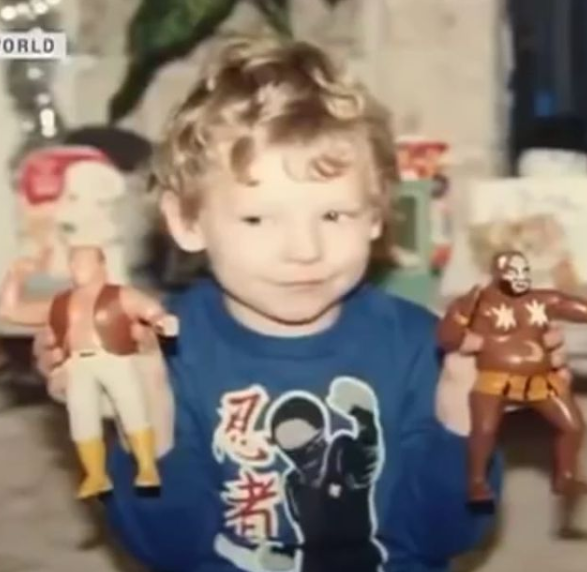 Kenny Omega Childhood Picture