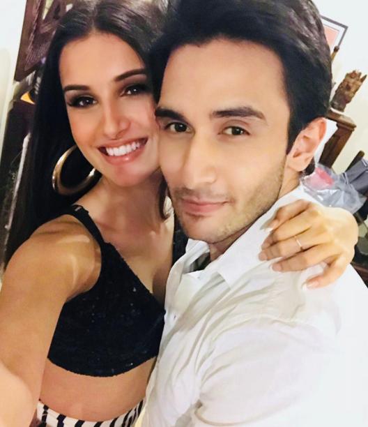 Tara Sutaria and her boyfriend, Rohan Vinod Mehra