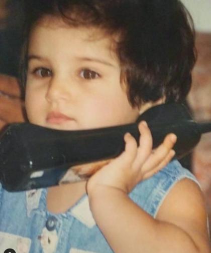 Tara Sutaria Childhood Picture
