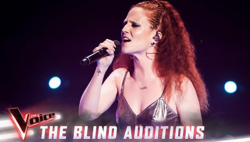 Jess Glynne in The Voice Australia 2019