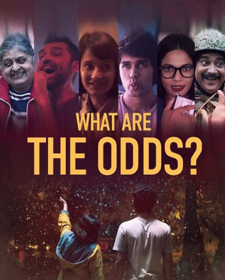 Monica Dogra in 2019 Indian Hinglish drama film, What Are the Odds