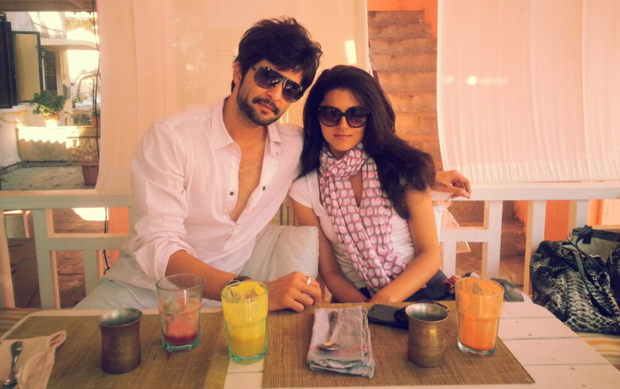 Ridhi Dogra and her ex-husband, Raqesh Vashisth