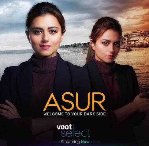 Ridhi Dogra in the Web Series 'Asur' as Nusrat Saeed
