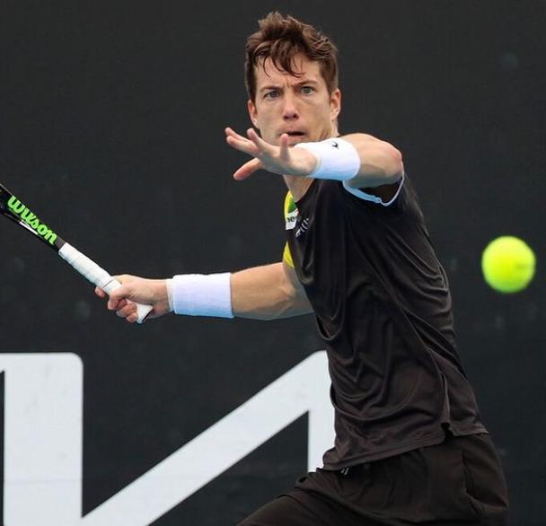 Professional Slovenia tennis player, Aljaz Bedene