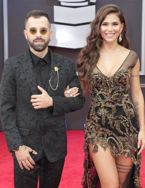 Singer Greeicy Rendn and Mike Bahia