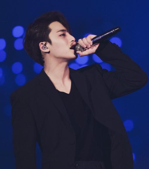 Kim Mingyu Singing