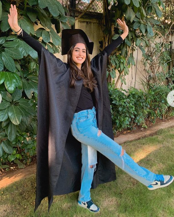 Navya Naveli Nanda graduated in Mass Communication from Fordham University