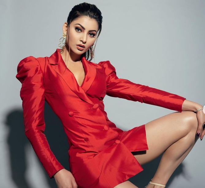 Famous Model, Urvashi Rautela
