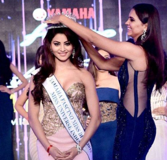 Successful Model and Actress, Urvashi